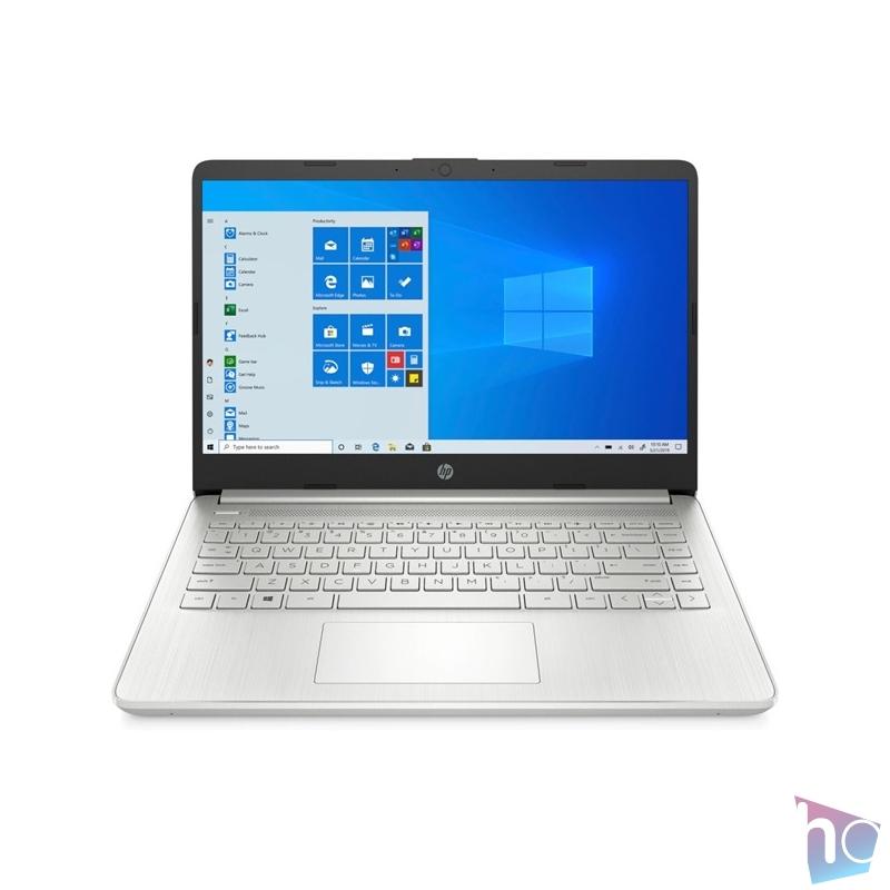 """HP 14s-dq2007nh 14""""FHD/Intel Core i3-1115G4/8GB/256GB/Int. VGA/Win10/ezüst laptop"""