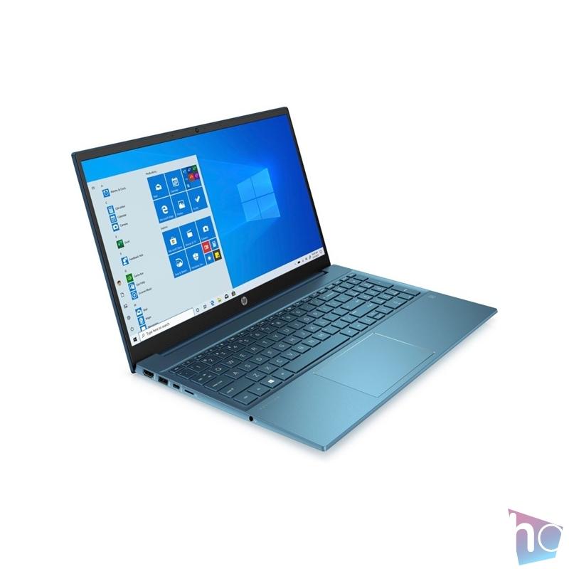 "HP Pavilion 15-eh0013nh 15,6""FHD/AMD Ryzen 5-4500U/8GB/256GB/Int. VGA/Win10/zöldeskék laptop"