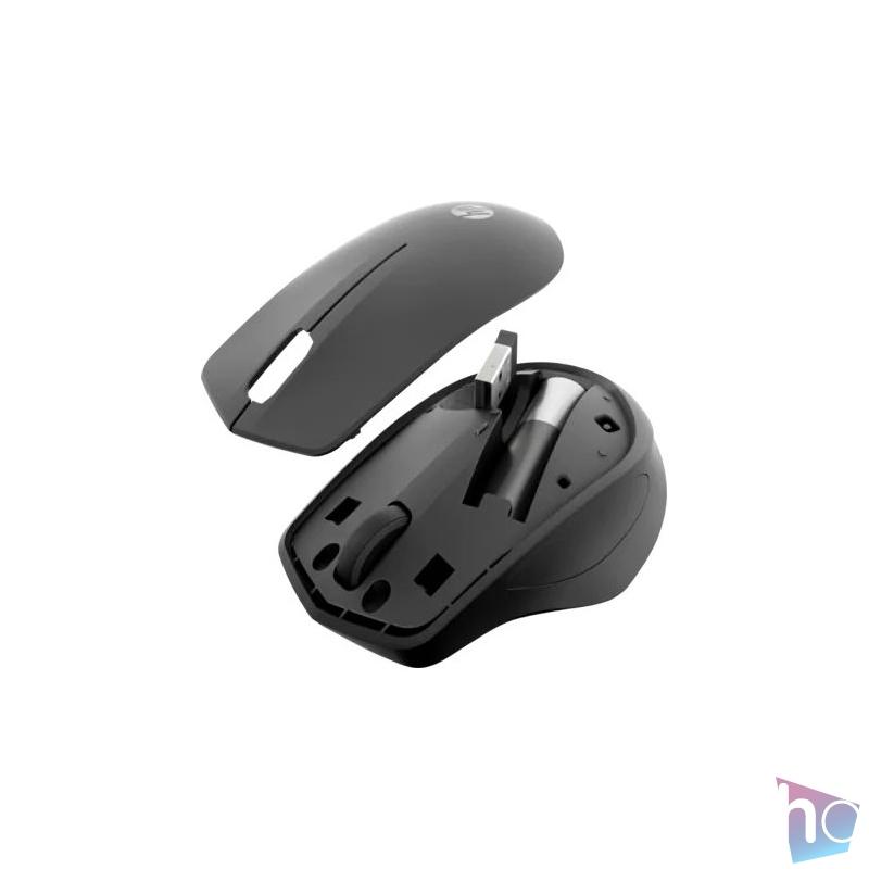 HP 280 Silent vezeték nélküli fekete egér