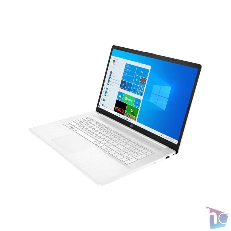 """HP 17-cp0006nh 17,3""""FHD/AMD Athlon 3020e/4GB/256GB/Int. VGA/Win10/fehér laptop"""