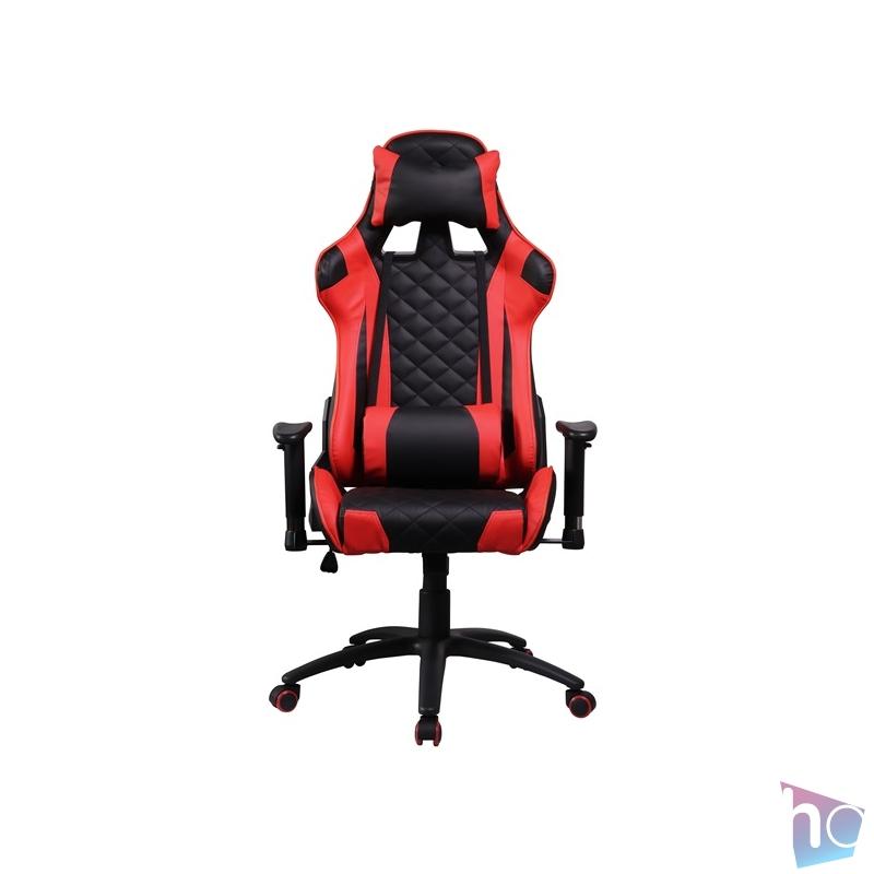 Iris GCH300BR fekete / piros gamer szék
