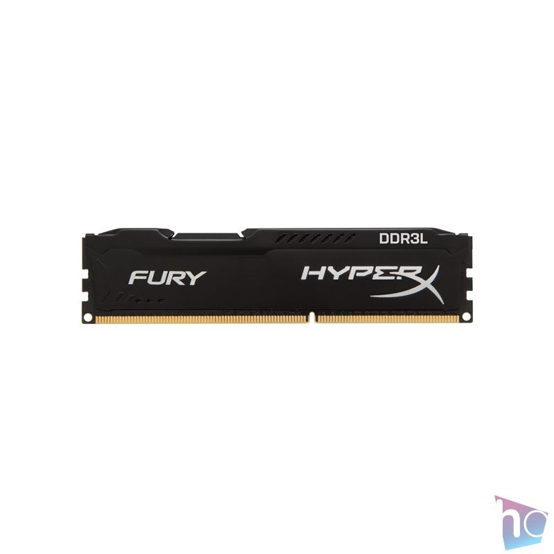 Kingston 8GB/1600MHz DDR-3 HyperX FURY fekete LoVo (HX316LC10FB/8) memória