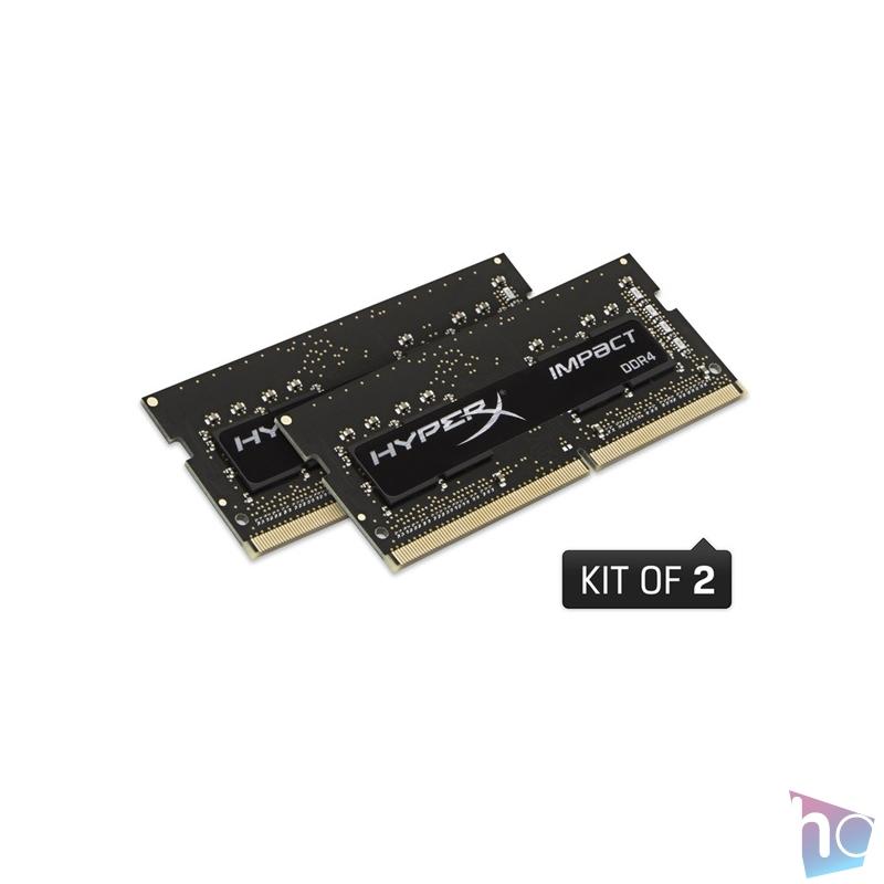 Kingston 32GB/2666MHz DDR-4 (Kit 2db 16GB) HyperX Impact (HX426S15IB2K2/32) notebook memória