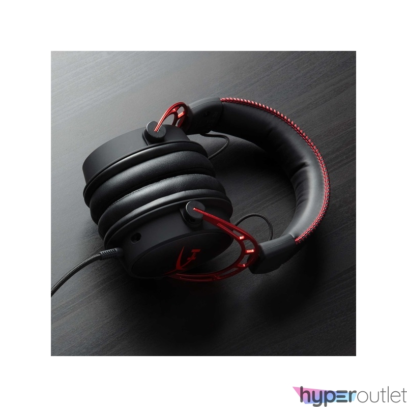 Kingston HyperX Cloud Alpha 3,5 Jack fekete-vörös gamer headset