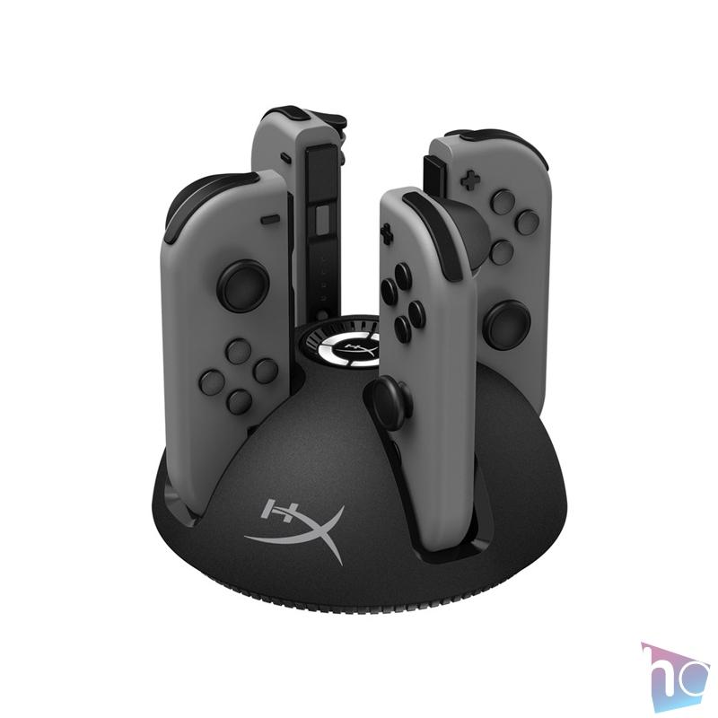 Kingston HyperX ChargePlay Quad Nintendo Switch kontroller töltő állomás