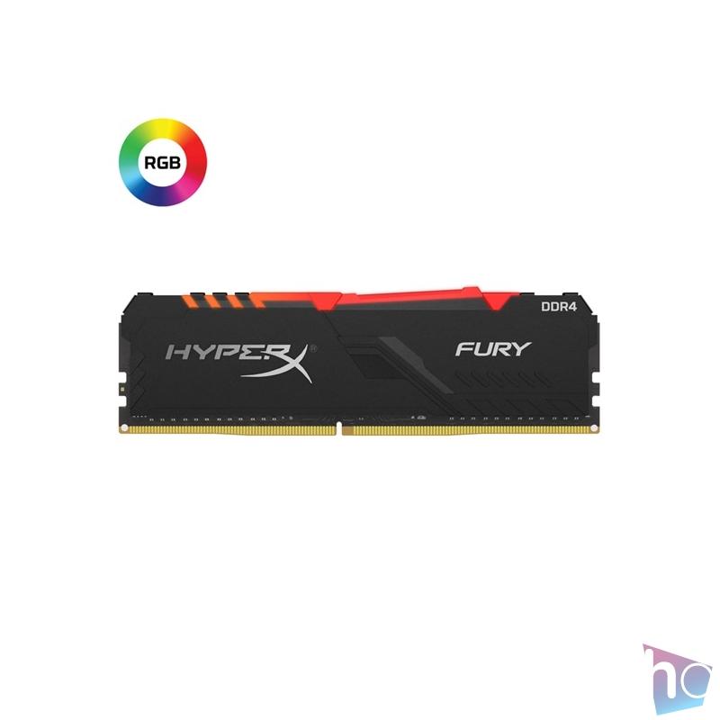 Kingston 16GB/2666MHz DDR-4 HyperX FURY RGB (HX426C16FB3A/16) memória