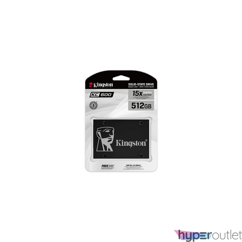 "Kingston 512GB SATA3 2,5"" 7mm (SKC600/512G) SSD"