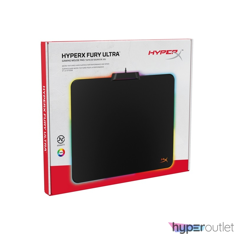 Kingston HyperX FURY Ultra (large) RGB világító gamer egérpad