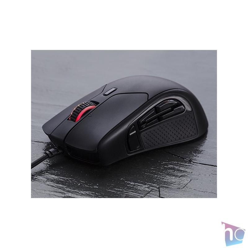 Kingston HyperX Pulsefire Raid fekete gamer egér