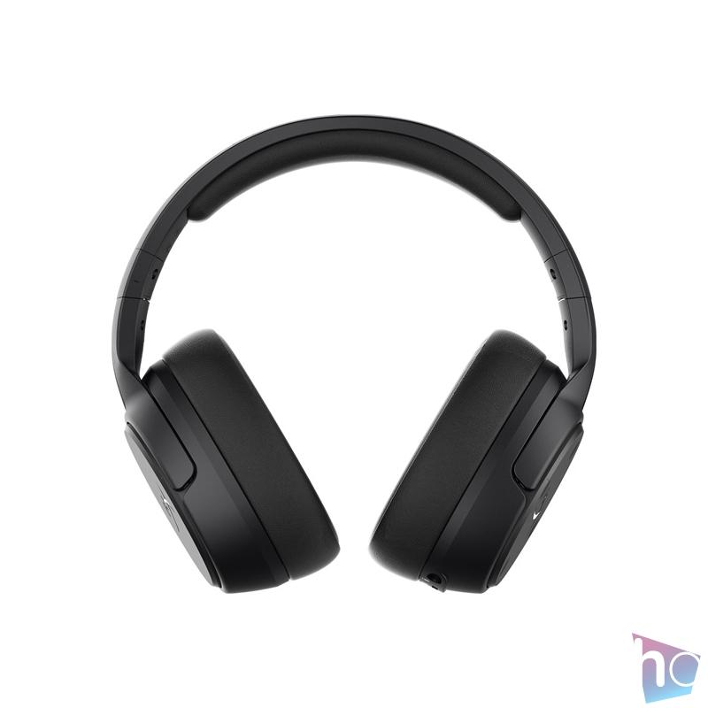 Kingston HyperX Cloud Flight S Qi töltős vezeték nélküli fekete gamer headset