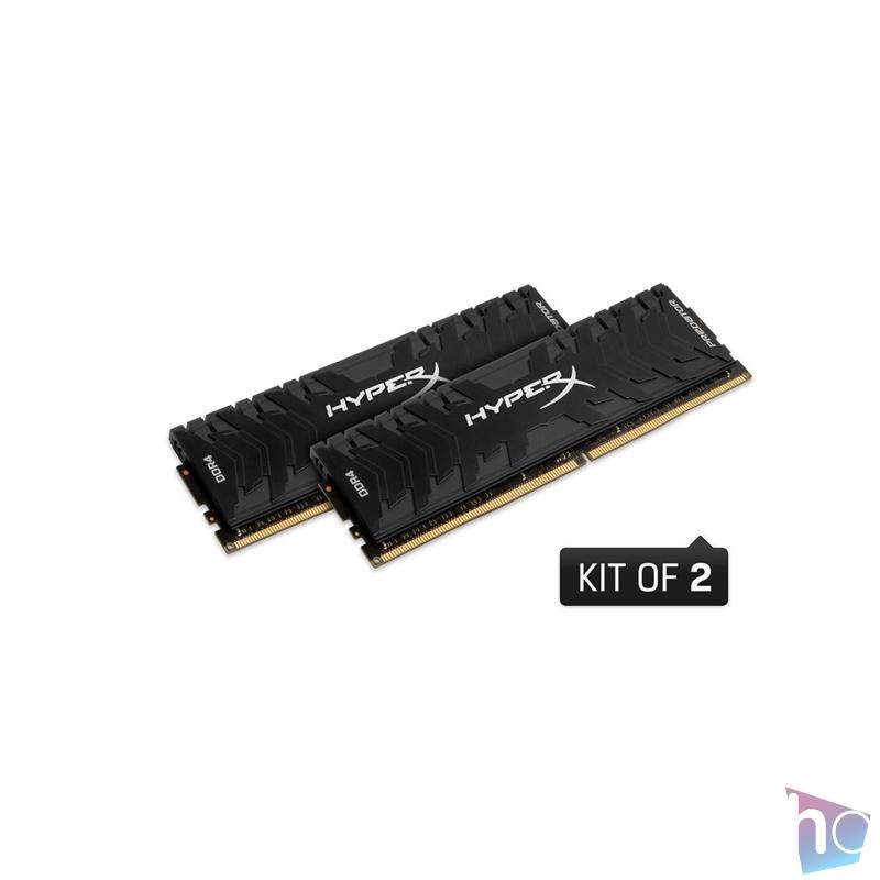 Kingston 64GB/2666MHz DDR-4 HyperX Predator XMP (Kit 2db 32GB) (HX426C15PB3K2/64) memória