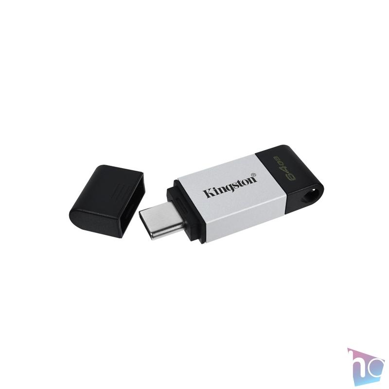 Kingston 64GB USB3.2 C DataTraveler 80 (DT80/64GB) Flash Drive