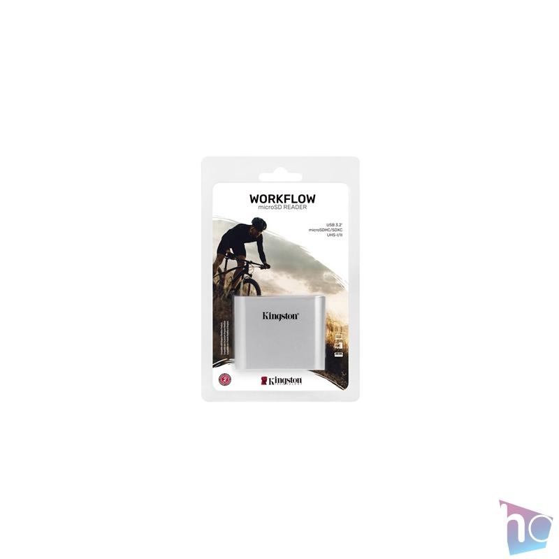 Kingston Workflow USB 3.2 micro SD kártyaolvasó