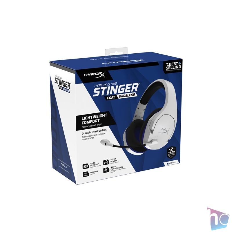 Kingston HyperX Cloud Stinger Core vezeték nélküli PS4 gamer headset