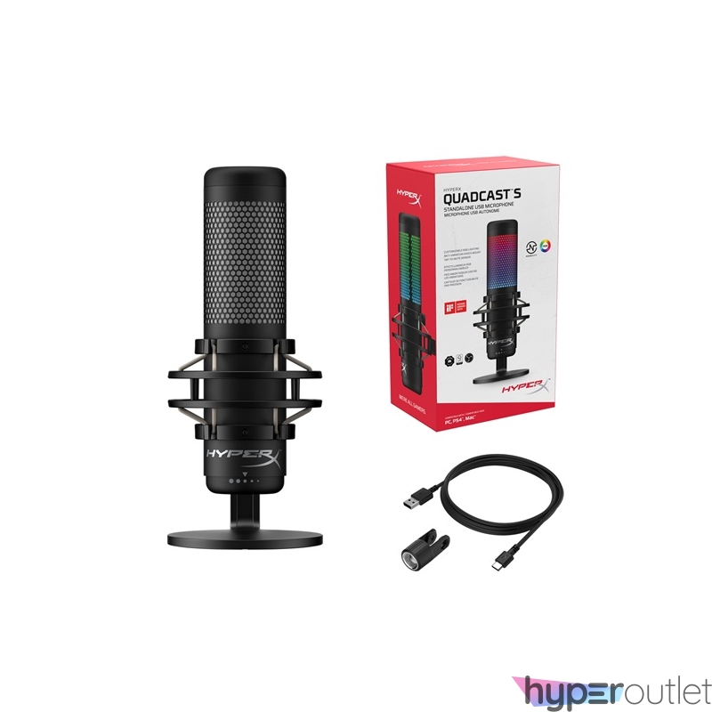 Kingston HyperX QuadCast S mikrofon