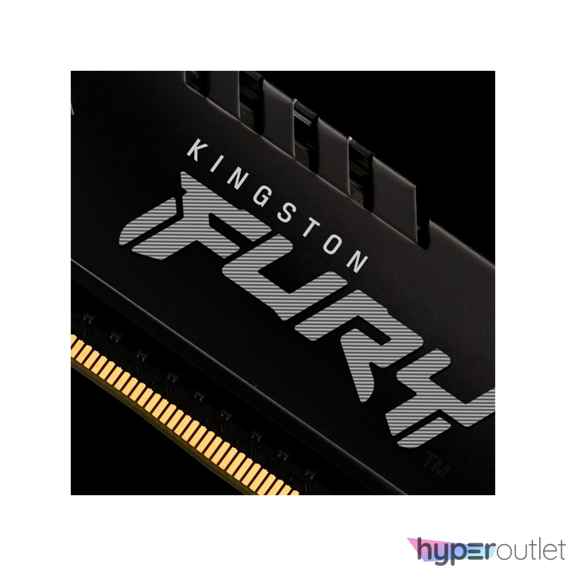 Kingston 16GB/3200MHz DDR-4 (Kit of 2) FURY Beast Black (KF432C16BBK2/16) memória