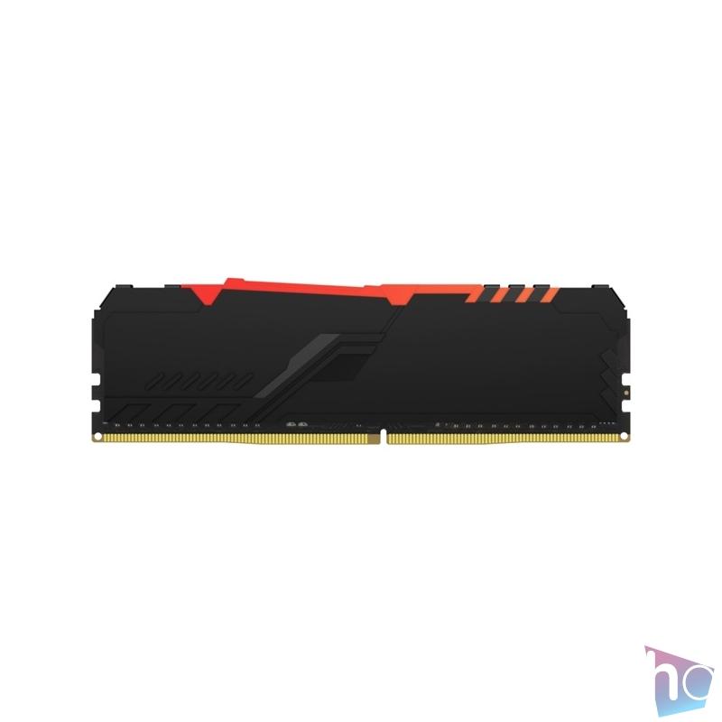 Kingston 32GB/3000MHz DDR-4 (Kit of 4) FURY Beast RGB (KF430C15BBAK4/32) memória