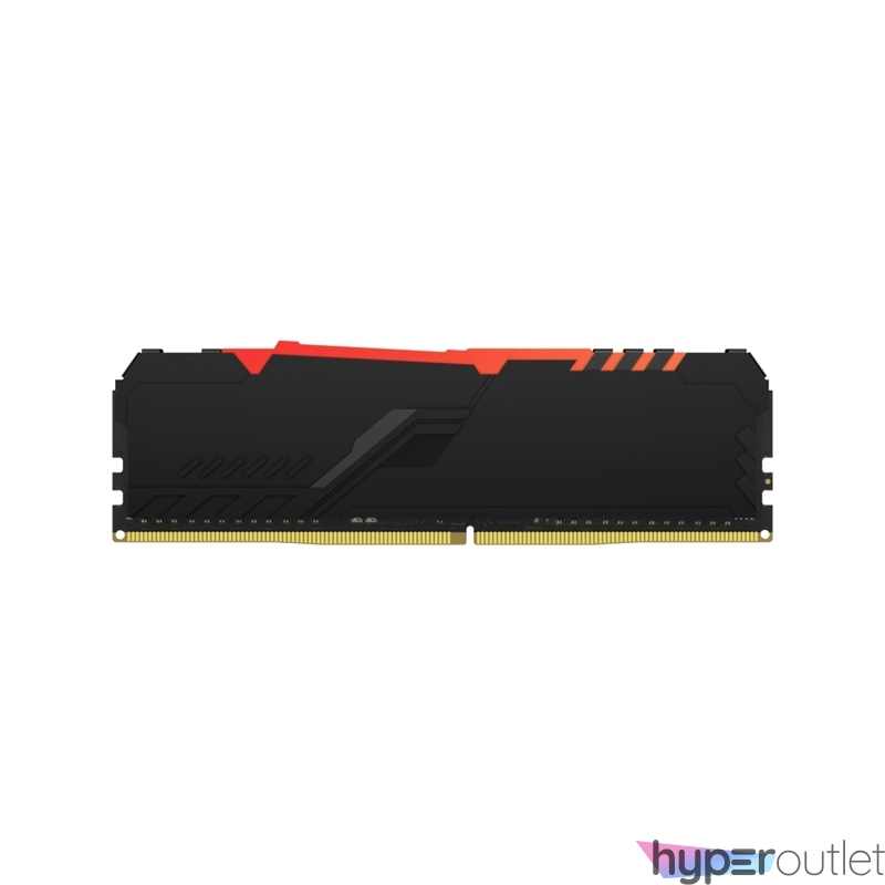 Kingston 32GB/3733MHz DDR-4 (Kit of 2) 1Gx8 FURY Beast RGB (KF437C19BB1AK2/32) memória