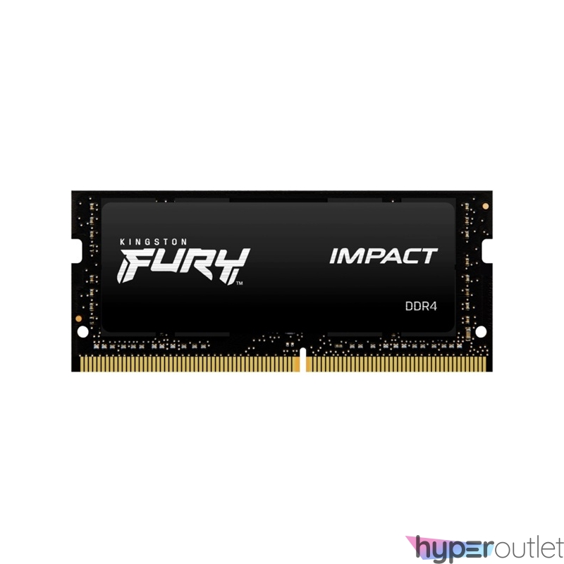 Kingston 32GB/2666MHz DDR-4 (Kit of 2) 1Gx8 FURY Impact (KF426S15IB1K2/32) notebook memória
