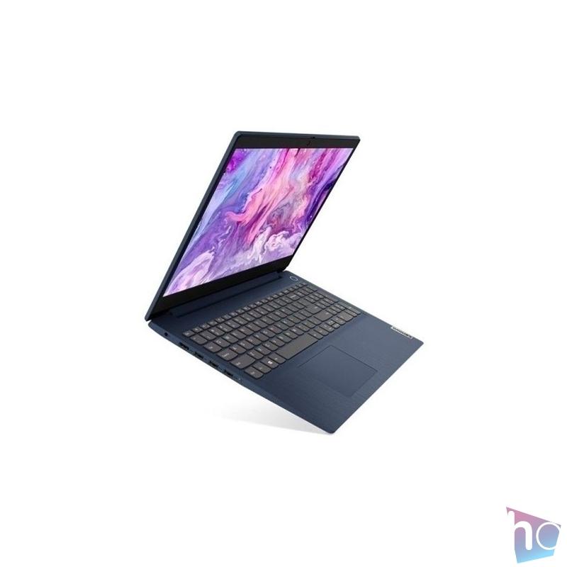 """Lenovo IdeaPad 3 15ADA05 81W100VMHV 15,6""""FHD/AMD Ryzen 5-3500U/8GB/512GB/Int. VGA/Win10 S/kék laptop"""