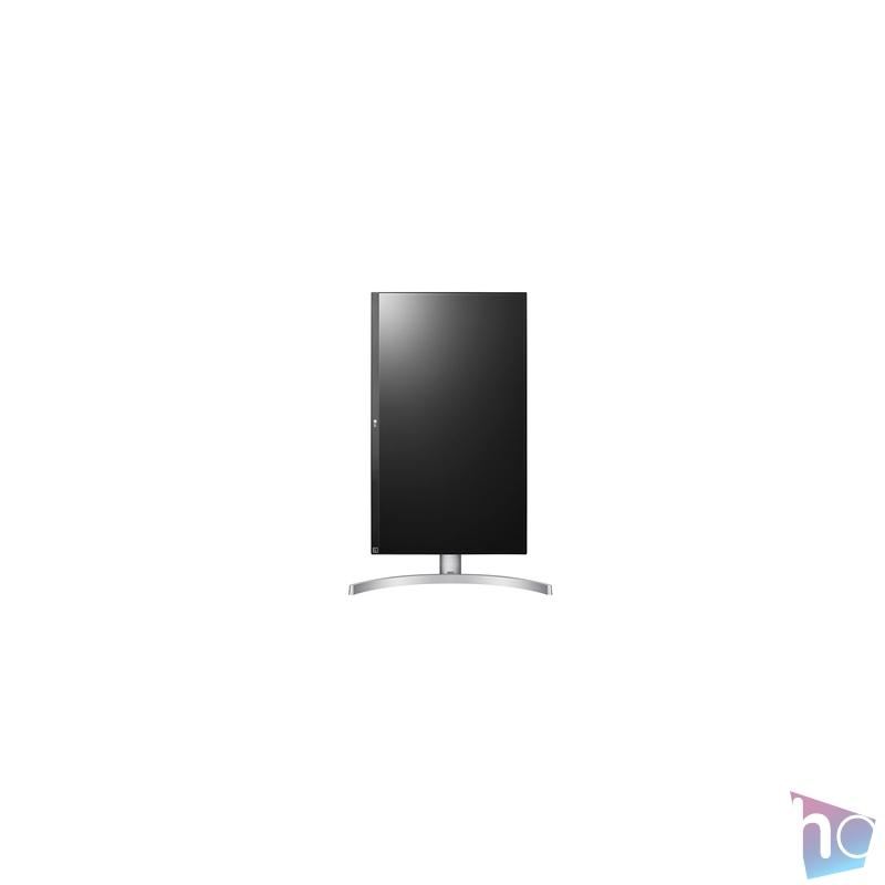"""LG 27"""" 27UL650-W 4K IPS HDMI DisplayPort Pivot LED fehér monitor"""