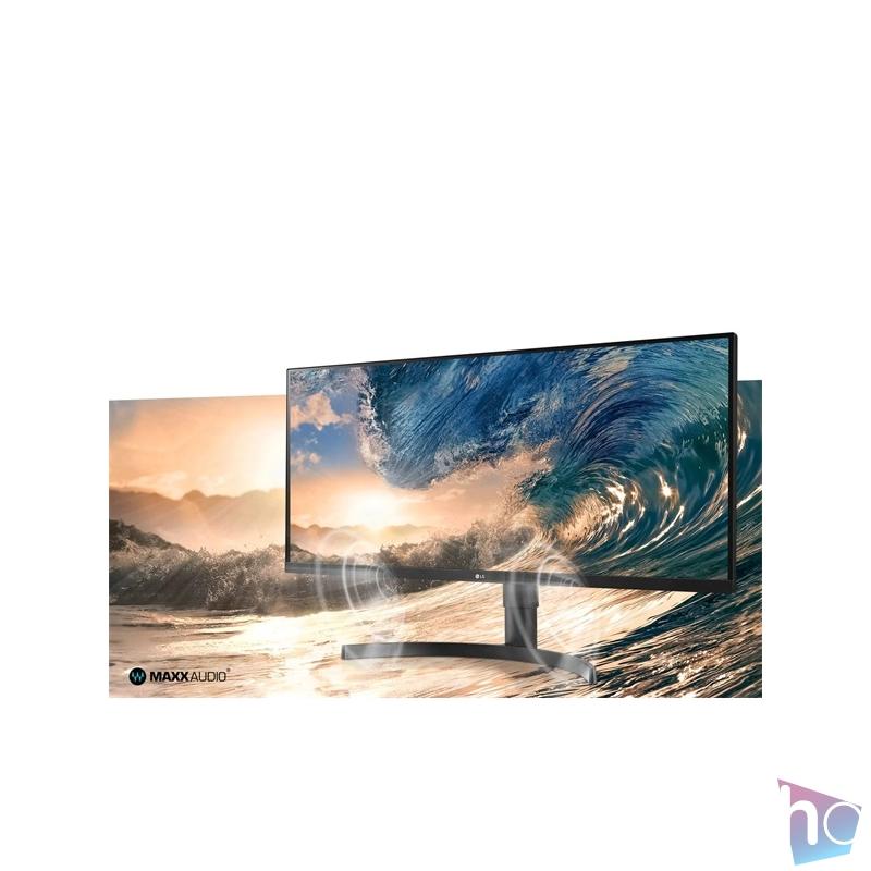 """LG 34"""" 34WN750-B LED IPS 21:9 Ultrawide HDMI monitor"""