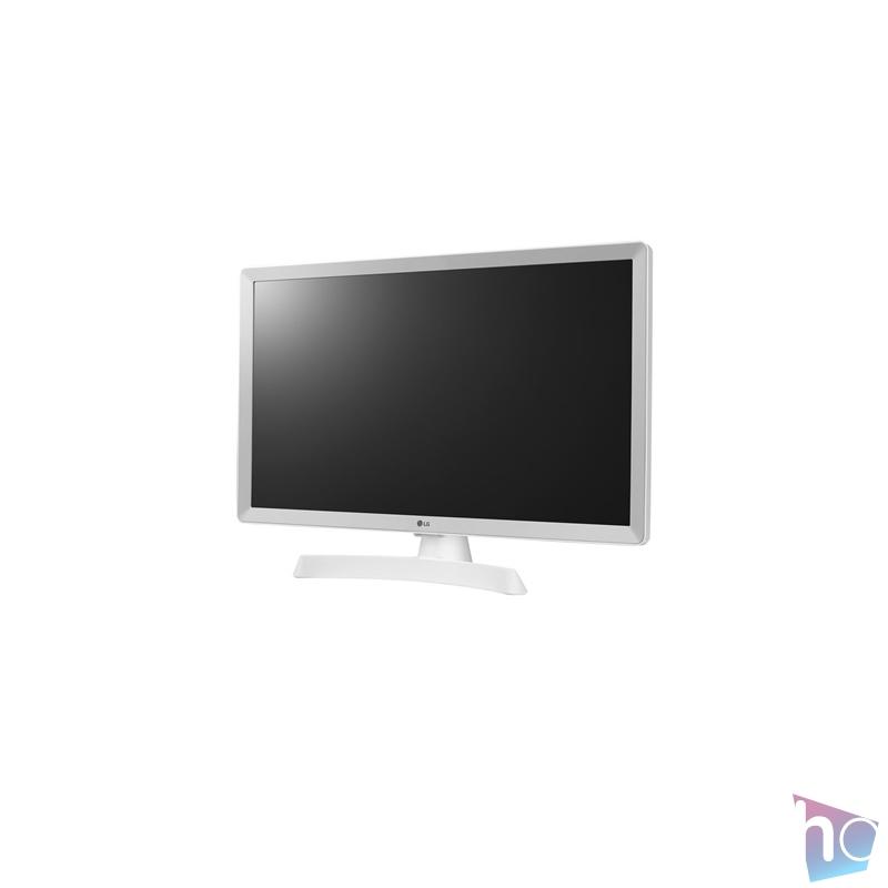"""LG 23,6"""" 24TN510S-WZ.AEU HD ready LED Smart Wifi HDMI fehér TV-monitor"""