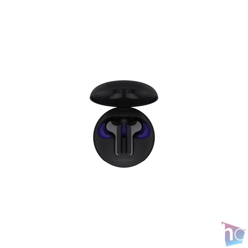 LG HBS-FN6 True Wireless Bluetooth fekete fülhallgató