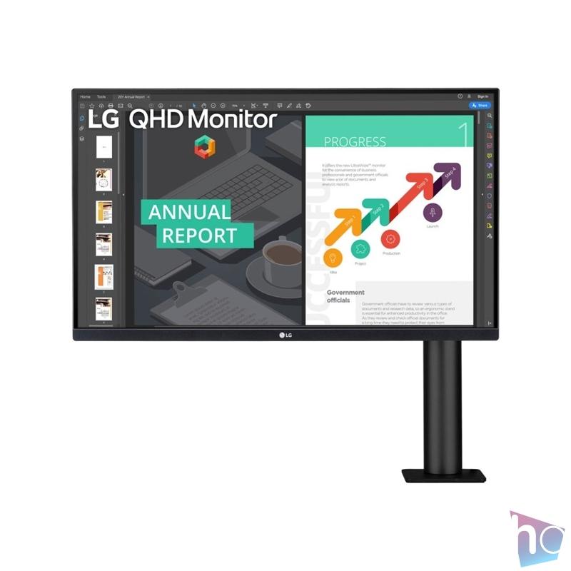 "LG 27"" 27QN880-B QHD IPS 75Hz HDR10 HDMI/DisplayPort monitor"