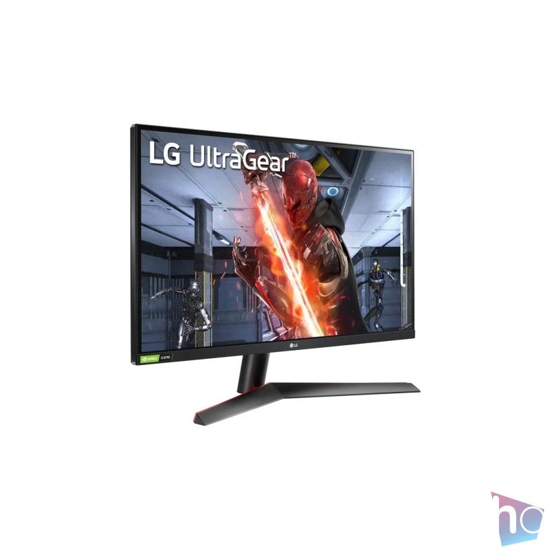 "LG 27"" 27GN600-B FHD IPS 144Hz 1ms HDR10 gamer monitor"