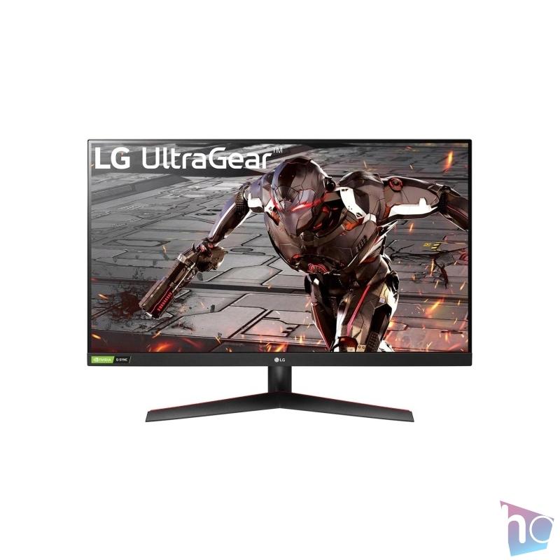 "LG 31,5"" 32GN500-B FHD VA 165Hz HDR10 gamer monitor"