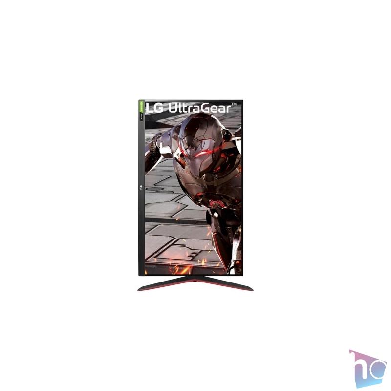 "LG 31,5"" 32GN550-B FHD VA 165Hz HDR10 gamer monitor"