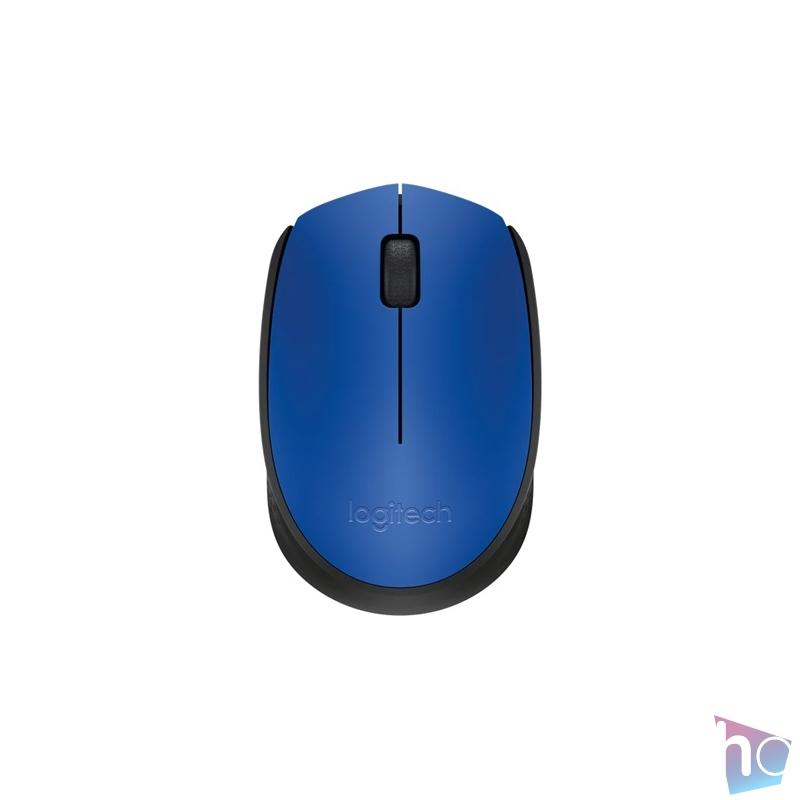 Logitech M171 vezeték nélküli kék notebook egér