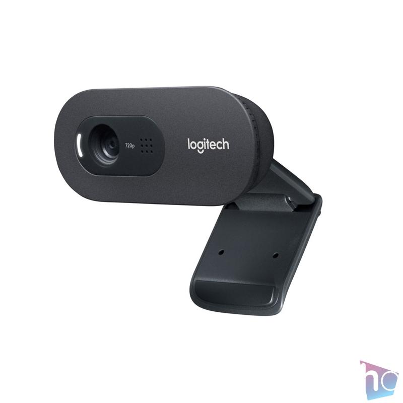 Logitech C270 720p fekete mikrofonos webkamera