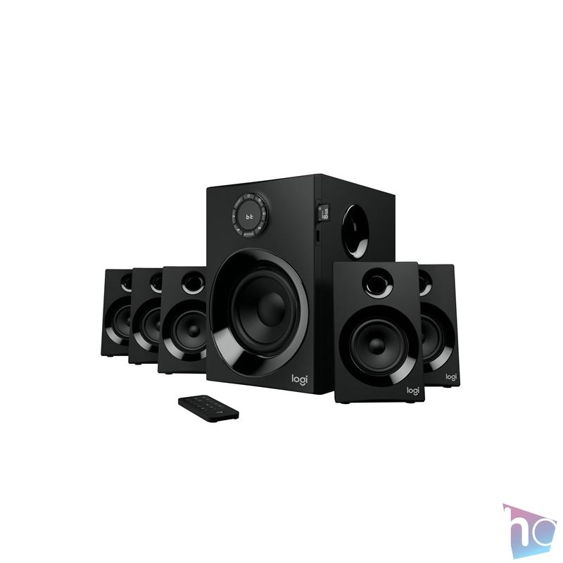 Logitech Z607 jack 5.1 160W Bluetooth FM fekete hangszóró