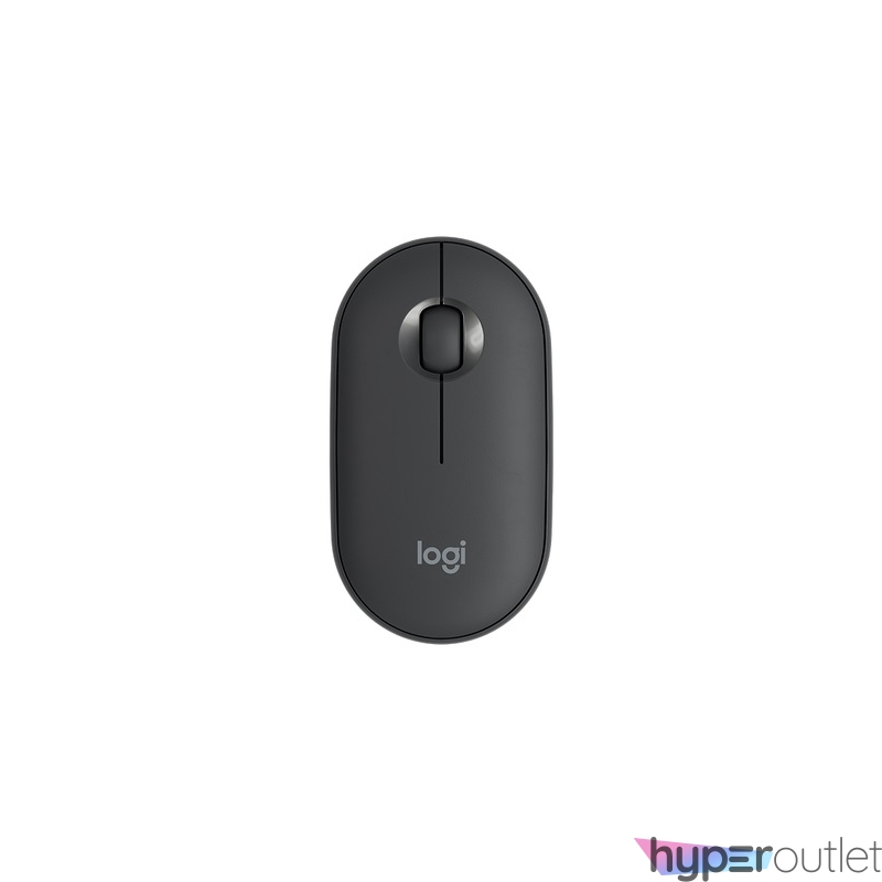Logitech Pebble M350 Graphite vezeték nélküli BT egér
