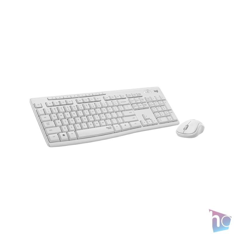 Logitech MK295 Silent HUN fehér vezeték nélküli billentyűzet + egér