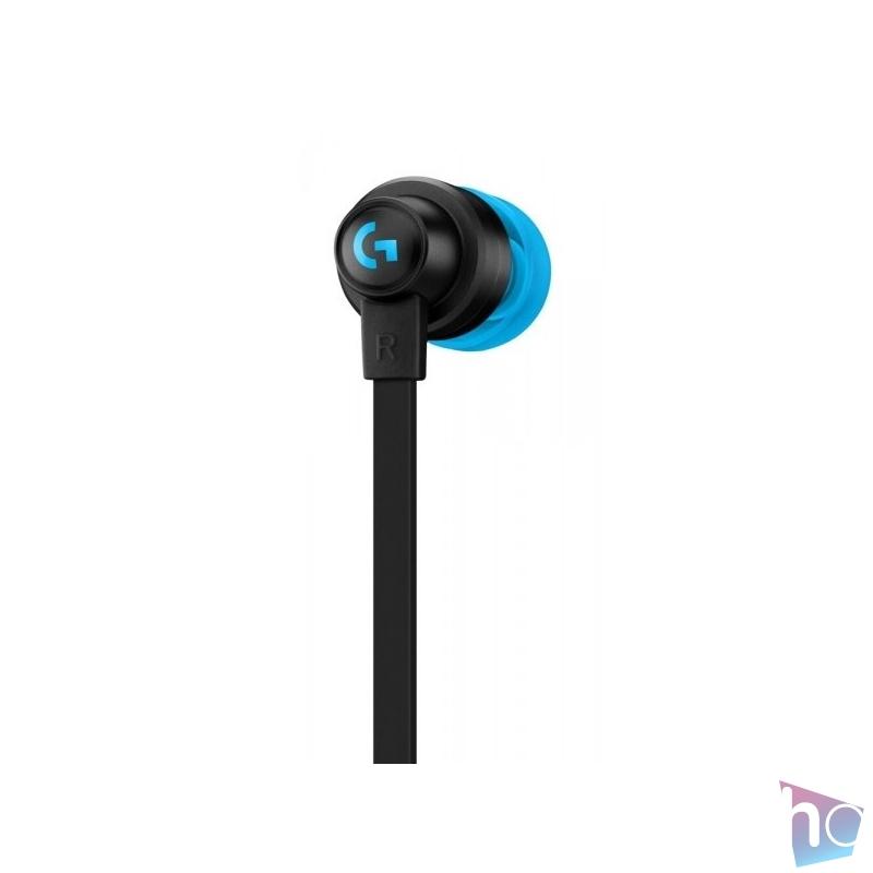 Logitech G333 mikrofonos fekete gamer fülhallgató