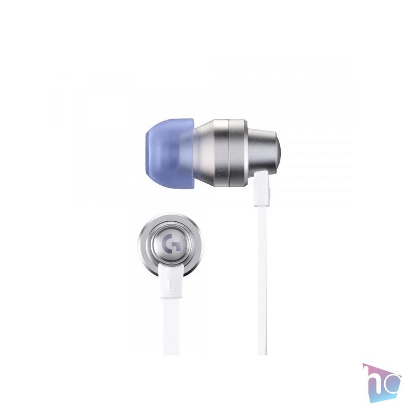 Logitech G333 mikrofonos fehér gamer fülhallgató