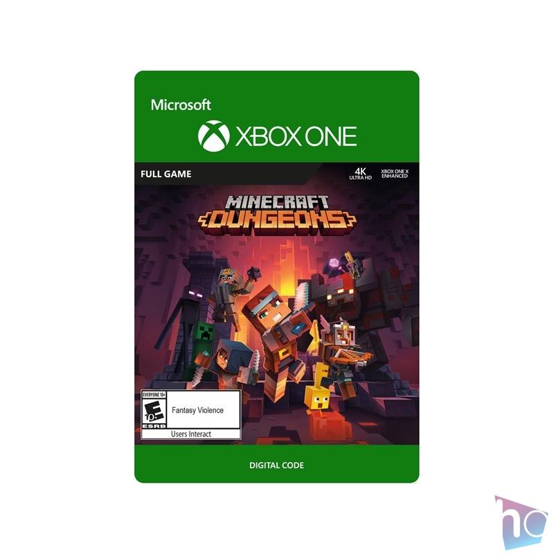 Minecraft Dungeons: Hero Edition Xbox One játékszoftver