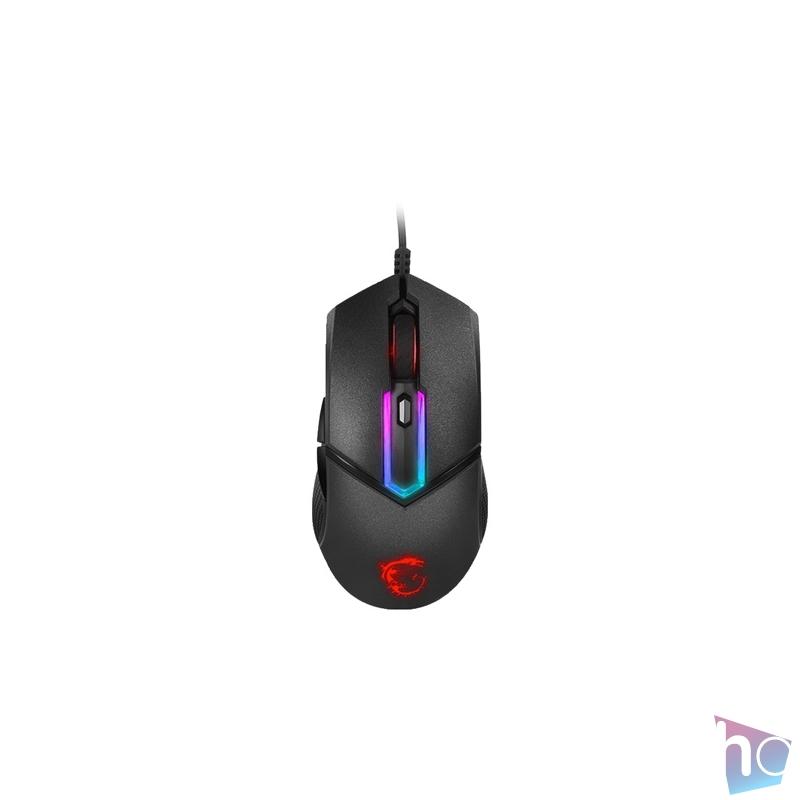 MSI Clutch GM30 fekete gamer egér