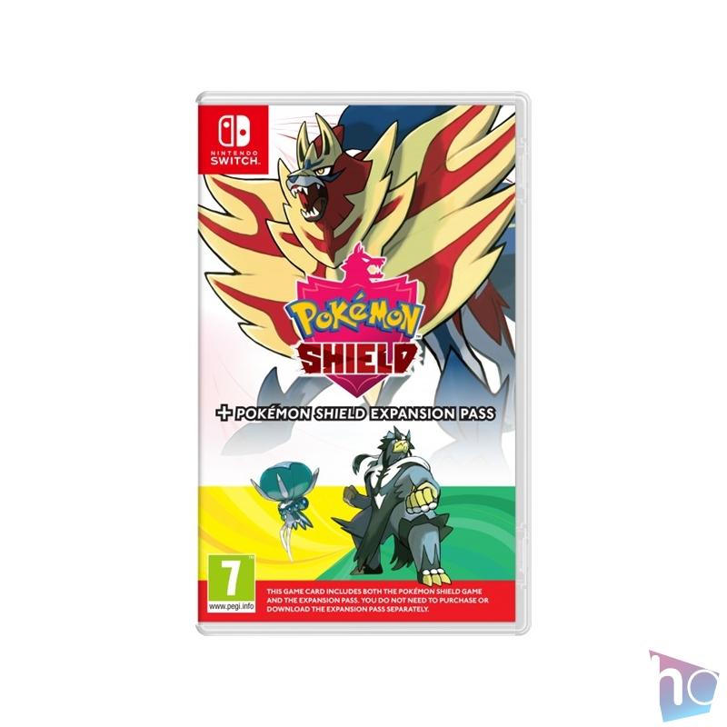 Pokémon Shield + Expansion Pass Nintendo Switch játékszoftver