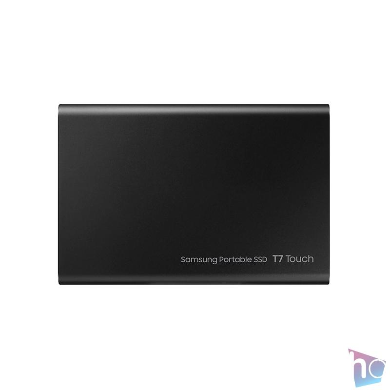 Samsung 1000GB USB 3.2 (MU-PC1T0K/WW) fekete ujjlenyomatolvasós T7 Touch külső SSD
