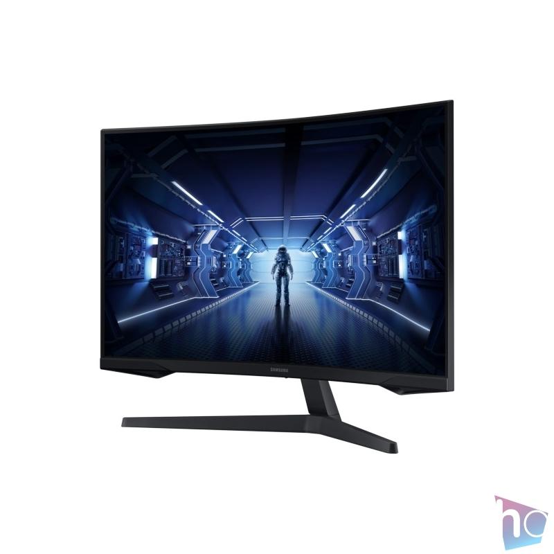 """Samsung 32"""" C32G55TQWU LED WQHD HDMI Display port 144Hz ívelt kijelzős monitor"""
