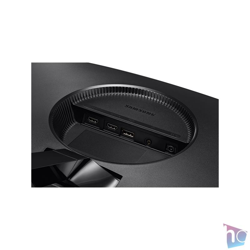 """Samsung 23,5"""" C24RG50FQR LED 2HDMI Display port 144Hz ívelt kijelzős kék-szürke gamer monitor"""