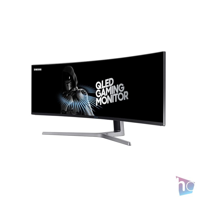"""Samsung 49"""" C49HG90DMR QLED 2HDMI Display port 144Hz ívelt kijelzős gamer monitor"""