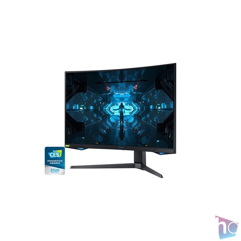 "Samsung 31,5"" C32G75TQSR QLED WQHD HDMI 2Display port 240Hz ívelt kijelzős monitor"