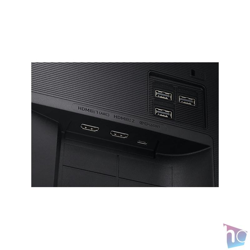 """Samsung 32"""" S32AM700UR LED 4K 2HDMI HDR10+ SMART monitor távirányítóval"""