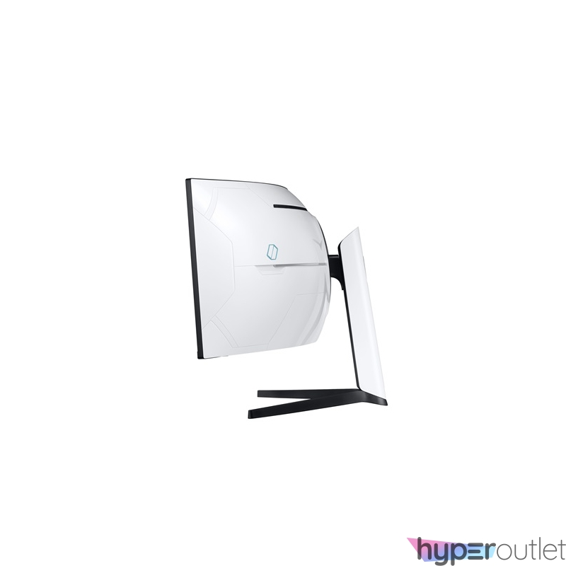 "Samsung 49"" C49G95TSSR QLED Dual-QHD HDMI 2Display port 240Hz ívelt kijelzős fehér monitor"