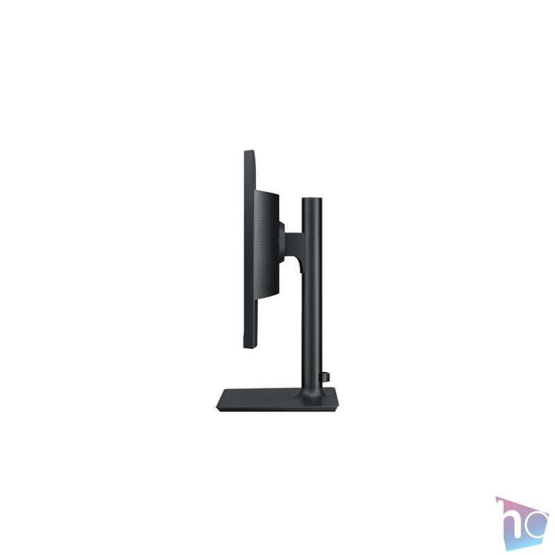"""Samsung 24"""" F24T650FYR LED IPS HDMI Display port kékes sötétszürke monitor"""